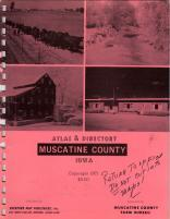 Title Page, Muscatine County 1971